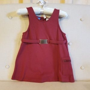 French Toast jumper dress